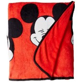 Disney Mickey Chevron Bed Blanket