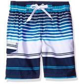 Kanu Surf Boys' Tidal Stripe Swim Trunk