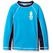 Gymboree Big Boys' Blue Rashguard With Pineapple Graphic
