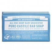 Dr. Bronner's Magic Soaps Pure Castile Bar Soap, Baby Mild 5 oz
