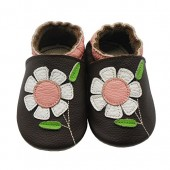 Sayoyo Baby Flowers Soft Sole Leather Infant And Toddler Shoes