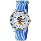 Disney Mickey Mouse Kids' W002507 Mickey Mouse Analog Display Analog Quartz Blue Watch