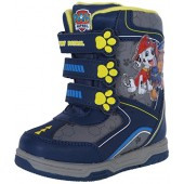 Josmo Paw Patrol Boy's Snow Boots with Velcro Straps Closure (Toddler, Little Kid)