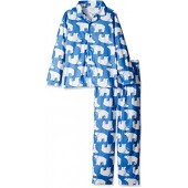 Gymboree Big Boys' Patterned Two-Piece Fire-Resistant Pajamas