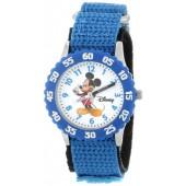 Disney Kids' W000002 Mickey Mouse Stainless Steel Time Teacher Watch