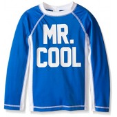 Gymboree Big Boys' Blue Mr. Cool Rashguard