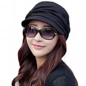 51c605bc351 Siggi Womens Newsboy Cabbie Beret Cap Cloche Cotton Painter Visor Hats  Summer