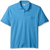 Haggar Men's Short Sleeve Minibox Knit Polo