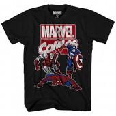 Marvel Big Boys' Captain America and Friends T-Shirt