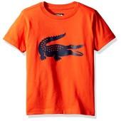 Lacoste Boys' Sport Croc Graphic T