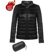 Beyove Women's Lightweight Waterproof Packable Down Jacket Outwear Puffer Down Coats
