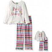 Dollie & Me Girls' Sleepwear Set