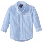 Tommy Hilfiger Baby Boys' Long Sleeve Tommy Stripe Shirt