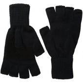 Levis Mens Heathered Knit Fingerless Gloves