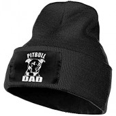 Cgi04T-5 Daily Knitting Hat for Men Women, 100% Acrylic Acid Pitbull DAD Watch Cap
