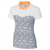 Cutter  Buck Women's Drytec Moisture Wicking UPF 50+ Cap Sleeve Jersey Polo Shirt