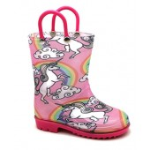 Storm Kidz Kids Girls Unicorn Printed Rainboots Assorted Prints Toddler/Little Kid/Big Kid Sizes