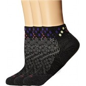 Smartwool Womens PhD Run Elite Low Cut Pattern 3-Pack