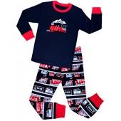 Babyroom Boys Pajamas Train Little Kids PJS 100% Cotton Toddler Kids Sleepwears Pant Set