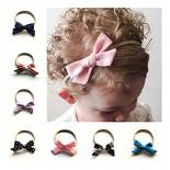 Love Sweety Baby Girls Soft Nylon Bowknot Headband Cute Hair Bows