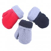 2 or 3 Pairs Toddler Baby Boy Girl Soft Cashmere Winter Mittens Gloves