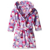 Hatley Girls' Fuzzy Fleece Robes