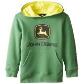 John Deere Little Boys' Trademark Fleece Green Child Hoodie