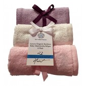 Bamboo Washcloths Face Towels for Sensitive Skin Great for Baby or Adult 6 Pack
