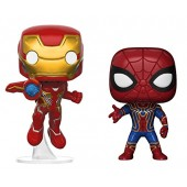 Funko Pop Marvel: Avengers Infinity War Man and Iron Spider Bundle Collectible Figures, Multicolor