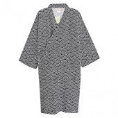 Women Men Sleepwear Cotton Robes Kimono Pajama Large Night Gown Loose Lounger