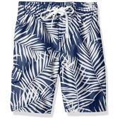 Kanu Surf Boys' Palma Floral Swim Trunk