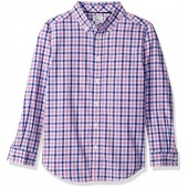 Gymboree Big Boys' Plaid Woven Shirt