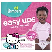 Pampers Easy Ups Pull On Disposable Training Diaper for Girls
