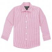 Spring Notion Baby Boys' Long Sleeve Gingham Shirt