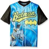 DC Comics Boys' Batman Front/Back Baseball Sublimation