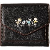 COACH Womens Box Program Snoopy Small Wallet