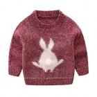 Mud Kingdom Little Boys Cute Rabbit Sweaters Pullover