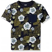 Gymboree Boys' Big Multi Floraltee