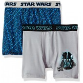 Disney Big Boys' Dinsey Mixed Athletic Boxer Briefs 2 Pack