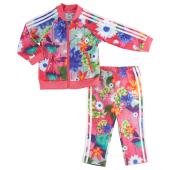adidas Originals Floral Superstar Track Set - Girls' Infant