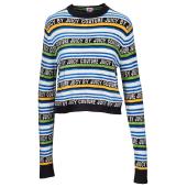 Juicy Racer Stripe Sweater - Women's