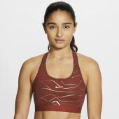 Nike Swoosh Icon Clash AOP Bra - Womens