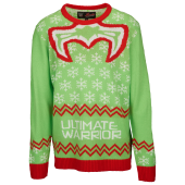 Ripple Junction Ultimate Warrior Ugly Christmas Sweater - Men's