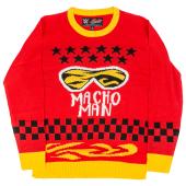 Ripple Junction Macho Man Ugly Christmas Sweater - Men's
