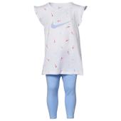 Nike Heart S/S T-Shirt & Mesh Shorts Set - Girls' Toddler