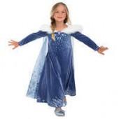 Elsa Deluxe Costume for Kids - Olafs Frozen Adventure