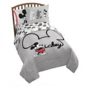Mickey Mouse Ears Comforter Set - Twin