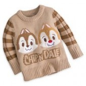 Chip n Dale Pullover Sweater for Baby