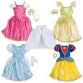 Disney Princess Roleplay Wardrobe Set - Kids