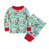 Mickey Mouse and Friends PJ PALS Set for Baby